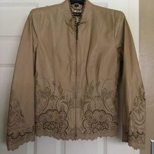Pamela McCoy Leather Jacket